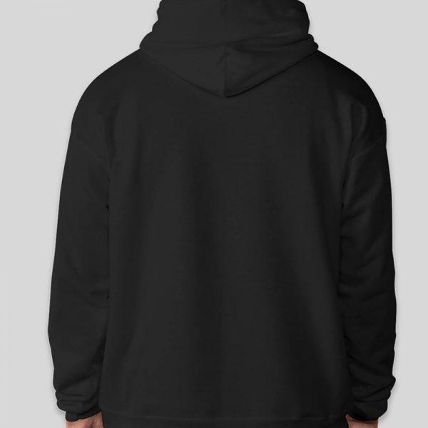 קפוצון קנגרו שחור בעיצוב עצמי [מותג T-Wear]