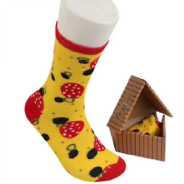גרביים פיצה מודפסות [מותג Happy Socks]