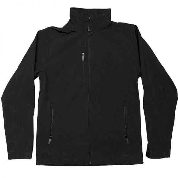 מעיל סופצל שחור מותג [T-Wear]