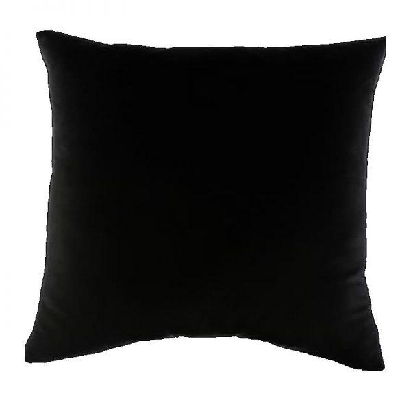 """כרית 40 ס""""מ שחורה בעיצוב עצמי"""