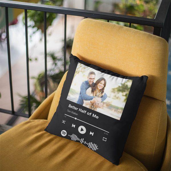 כרית Spotify בהתאמה אישית